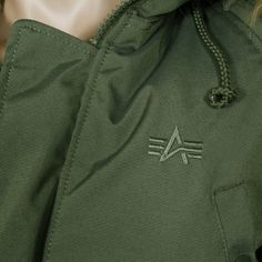Alpha Industries Explorer Women Parka dark green