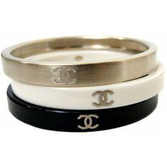 Chanel Bracelets ❤ liked on Polyvore