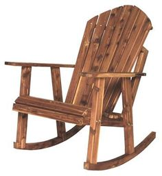 Outdoor Furniture Pallet Amish Adirondack Rocking Chair - Amish Cedar Wood Adirondack Rocking Chair The Green Wood Collection A symbol of comfort and relaxation, the beloved Adirondack style is fashioned into a rocker with the Amish Cedar Wood Adironda Adirondack Rocking Chair, Rocking Chair Plans, Outdoor Rocking Chairs, Adirondack Chairs, Adirondack Chair Plans Free, Diy Furniture Plans, Furniture Projects, Rustic Furniture, Wood Projects