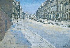 Belmont, Bath by Walter Richard Sickert