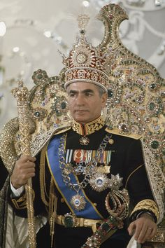 Portrait Of The Shah Of Iran Taken is a photograph by James L Stanfield