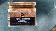 Business card holder handmade business card holders and business cards business card holder you can glue your own card by momoswoodshop colourmoves