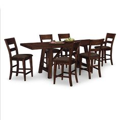 Everett Dining Room 7 Pc. Counter-Height Dinette  - I'm in love with this one!