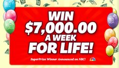 PCH Sweepstakes Entry List and Winners' Guide Instant Win Sweepstakes, Online Sweepstakes, Pch Dream Home, Lotto Winning Numbers, Win For Life, Winner Announcement, Publisher Clearing House, Congratulations To You, Cash Prize