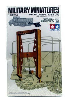 Tank Recovery Accessory Set Tamiya 35243 1/35 New Model Kit