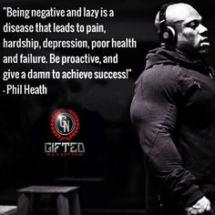 Mr. Heath is the President and co-founder of Gifted Nutrition, as well as a tremendously successful IFBB professional bodybuilder and fitness entrepreneur. Mr. Heath's success and expertise in the world of fitness nutrition is second to none, and he brings this wealth of knowledge to his latest venture with the Gifted Nutrition Brand. http://www.giftednutrition.com