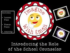 Can you imagine speaking in emoji? Kids love emojis and they will love learning about the role of the school counselor by guessing what the emojis represent. From feelings, to conflicts, to ways to seek help from the school counselor, emojis can say it all. Included is a lesson plan, 36 slide Power Point, and Get to Know You Activity.