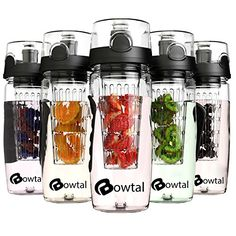 Bowtal Fruit Infuser 32oz Water Bottle BPA Free, Made of Premium Shatter-proof Tritan with Leakproof Design. Ideal Camping / Yoga / Sports Water Bottle with Removable Infuser * To view further for this item, visit the image link.
