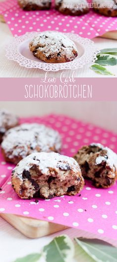 Low Carb Schokobrötchen #lowcarb #glutenfrei #zuckerfrei #sugarfree #grainfree