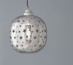 """Piereced star pendant #pbkids - Don't even care that its from the """"kids"""" stuff I LOVE this fixture!!"""