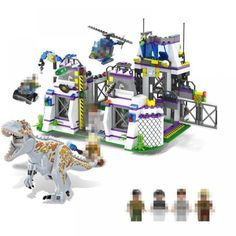 Jurassic World Dinosaur Park Base Tyrannosaurus Rex Get Away Building Block Brick Toy Dinosaur Park, Jurassic World Dinosaurs, Shipping Packaging, Tyrannosaurus Rex, Countries Around The World, Model Building, Natural Disasters, Brick, Happy Birthday