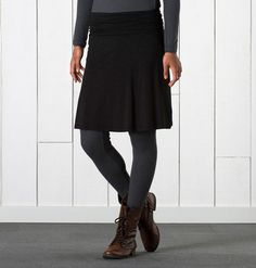 CHAKA SKIRT - something like this in red or navy (I have black and brown skirts)