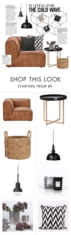 """""""Waiting for the cold wave"""" by ghomecollection on Polyvore featuring Andrew Martin, .wireworks, Pottery Barn and Lene Bjerre"""