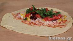 ΣΥΝΤΑΓΗ ΓΙΑ ΚΑΛΤΣΟΝΕ - Κλασικό και Νηστίσιμο (vegan) | Ευτύχης Μπλέτσας Tacos, Mexican, Ethnic Recipes, Food, Essen, Meals, Yemek, Mexicans, Eten