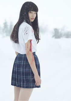 Mellow Like A . - 小松菜奈 (via Cosplay, Pretty People, Beautiful People, Komatsu Nana, Poses References, Japanese Aesthetic, Body Poses, Japan Girl, Japanese Models