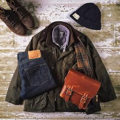 Rugged Gallery — F R I D A Y | Jacket: Barbour Bedale + Shirt:...                                                                                                                                                                                 More