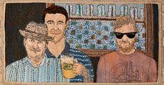 Featured textile artist Sue Stone