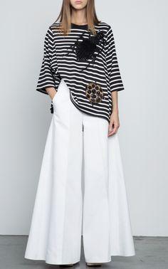 Beetle Stripe Top by DICE KAYEK for Preorder on Moda Operandi