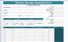 Get Delivery Receipt Template Excel xls – Project Management Templates and Certification Bill Of Lading, Project Management Templates, Receipt Template, Free Resume, Sample Resume, Delivery, Printables, How To Plan, Words