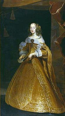 Eleonora Gonzaga (1630 - 1686). Holy Roman Empress from 1651 until her husband died in 1657. She was the third wife of Ferdinand III.