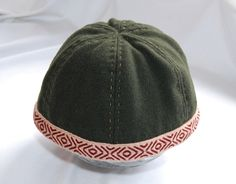 Viking hat from Birka with tablet braid. (3) - Othala Craft