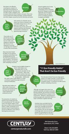 11 Eco Friendly Habits That Aren't So Eco-Friendly