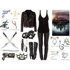 The Mortal Instruments Inspired.