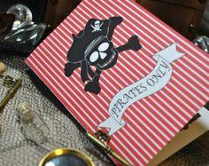 Decoraciones de fiesta de cumpleaños del pirata por Distinctivs