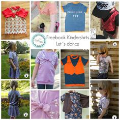 Nähpuls - DIY mit Herz und Hand: Nähpuls Freebook Kindershirt Let´s Dance - Shirt - kam auch mit Bolero oder Weste Optik genäht werden
