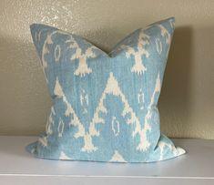 How To Make Pillows, Blue And White Pillows, Double Sided Pillows, Modern Boho, Pillows, Trendy Pillow, Floral Pillows, Decorative Pillows, Designer Decorative Pillows
