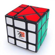 12 côtés Magic Cube Stickerless 3x3 Vitesse Twist Cube Casse-tête Jeu