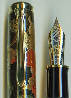 Fountain Pen - I used one of these when I was young to write letters to my friends who moved away.   My pens had little tubes of ink you would put inside them and replace the tubes when you needed to.