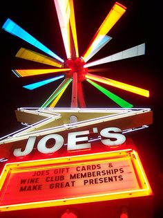 I lived a block from Joe's. Loved that atomic sign even before they restored it.  Joe's Liquor Store. Memphis, TN