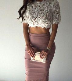 Look fashionable fashion fashionista Mode Outfits, Sexy Outfits, Fashion Outfits, Womens Fashion, Latest Fashion, Fashion Killa, Look Fashion, Look Kim Kardashian, Dress Skirt