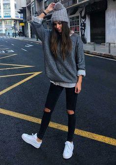7cea8e15959fb3 25 Winteroutfits mit Hut, der mehr als nur warm hält #mutze #outfits #