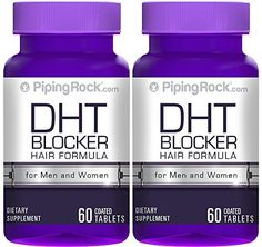 DHT Blocker For Men & Women works well for all hair types. Combats hair loss and thinning hair with a nutritional approach**. Natural supplement that nourishes and supports hair regrowth from the insi...