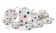 Piero Fornasetti, Gio Ponti, Tea Service, Decoration, Home Deco, Vintage Designs, Product Launch, Pottery, Collaboration