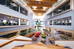 Image 1 of 24 from gallery of Moneypenny Headquarters / AEW Architects. Courtesy of Moneypenny