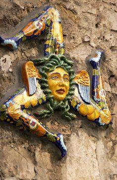 Trinacria in Taormina, Sicily, Italy #taormina #sicilia #sicily