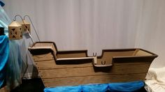 Boat for kiss the girl The Little Mermaid Musical, Stage Design, Storage Chest, Jr, Musicals, Kiss, Boat, Home Decor, Set Design