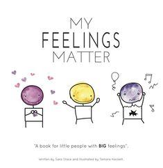 """A book for little people with BIG feelings""The My Feelings Matter book was created by author Sara Stace for her Son Hudson.Huddy has High Functioning Autism and communicating feelings is something that we have had to work on together. Through working on this he has absolutely thrived! Sharing how he is feeling has not come easy and has been the cause of many hard days over the years.It is my belief that all children want to share about their feelings but just don't have the skills on how to…"