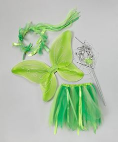 Another great find on #zulily! Green Pixie Dress-Up Set #zulilyfinds