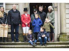 La famille héritière à la Saint Hubert