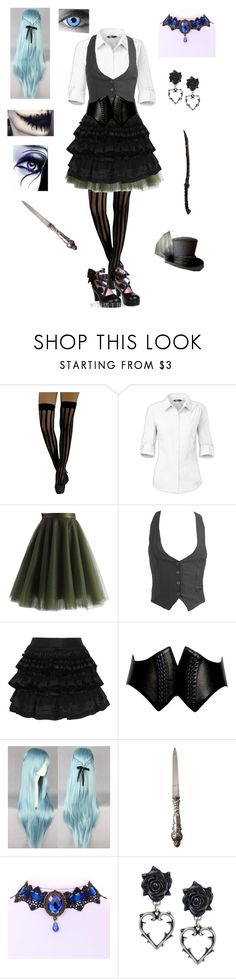 """""""Random Creepypasta Character #17"""" by ender1027 ❤ liked on Polyvore featuring The North Face, Chicwish, Wet Seal, Faith Connexion and Alaïa"""