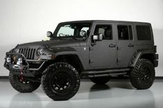 Custom 2013 Jeep Wrangler Unlimited Lifted Kevlar Coated Exterior $51,583