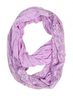 This cute purple scarf is my favorite color!