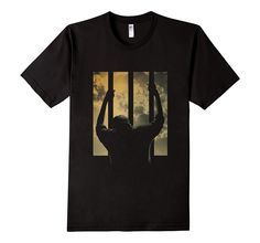 In the Land of The Free, we show we are Free. iT-Shirts 3D Redemption Short-Sleeve T-Shirt features a man behind the bars waiting for freedom. The sun shines and the clouds outside reflect rays of hope and redemption. Our iT-Shirts are 100% Cotton, Machine Washable, Come In Different Sizes For All Age Groups, And Are Suitable For Both Genders.