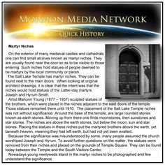 MormonMediaNetwork.com -  Martyr Niches