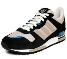 @adidas Originals ZX 700-Black-Bliss-Collegiate Silver #sneakers #kicks