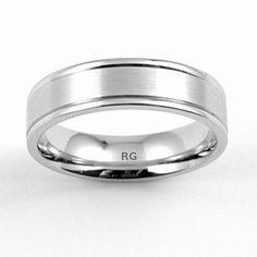 Snubní pánský prsten Silvego z chirurgické oceli R5435-H velikost 51